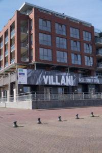 Het nieuwe restaurant van Villiani ligt aan de Scheveningse haven.