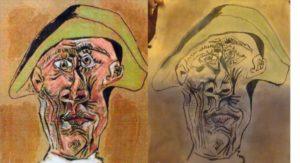 De in Roemenië gevonden 'Picasso' is een vervalsing, gemaakt in het kader van een theaterproject. Dat zegt het Antwerpse theatergezelschap Berlin.