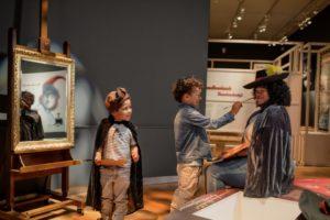 Hallo Rembrandt in het Mauritshuis