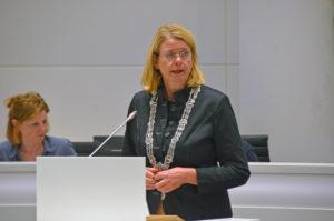 Pauline Krikke spoeddebat Mos