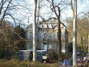 Huis Ivicke in Wassenaar.