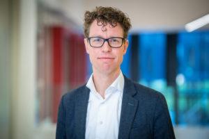 Wethouder Martijn Balster: 'We moeten minimaal 1200 nieuwe sociale-huurwoningen per jaar bouwen.' (Gemeente Den Haag/Martijn Beekman)
